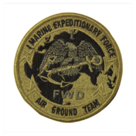 Vanguard MARINE CORPS PATCH: FIRST MARINE EXPEDITIONARY FORCE - EMBROIDERED ON OCP