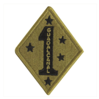 Vanguard MARINE CORPS PATCH: OCP FIRST DIVISION - HOOK CLOSURE