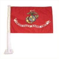 Vanguard MARINE CORPS CAR FLAG: UNITED STATED MARINE CORPS - USMC