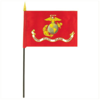 Vanguard MARINE CORPS FLAG - 4 BY 6 INCHES