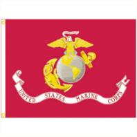 Vanguard MARINE CORPS FLAG - NYLON E-POLY