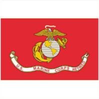 Vanguard MARINE CORPS FLAG: USMC RETIRED