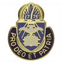 Vanguard ARMY CORPS CREST: CHAPLAIN - PRO DEO ET PATRIA