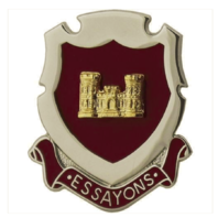 Vanguard ARMY CORPS CREST: ENGINEER - ESSAYONS