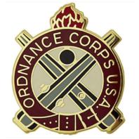 Vanguard ARMY CORPS CREST: ORDNANCE - CORPS U.S.A.