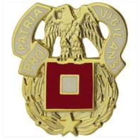 Vanguard ARMY CORPS CREST: SIGNAL - PRO PATRIA VIGILANS