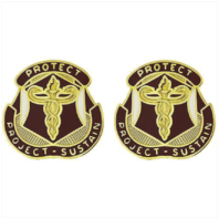 Vanguard ARMY CREST: MEDICAL RESEARCH AND MATERIAL COMMAND