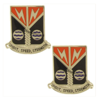Vanguard ARMY CREST: 58TH SIGNAL BATTALION - SPIRIT, SPEED, STRENGTH