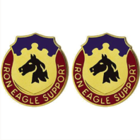 Vanguard ARMY CREST: 127TH SUPPORT BATTALION - IRON EAGLE SUPPORT