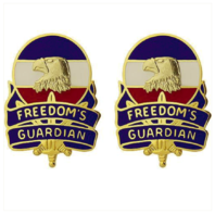 Vanguard ARMY CREST: FORCES COMMAND: FORSCOM - FREEDOMS GUARDIAN
