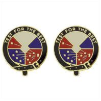 Vanguard ARMY CREST: DEVELOPMENTAL TEST COMMAND - TEST FOR THE BEST