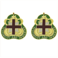 Vanguard ARMY CREST: MEDICAL COMMAND HEALTH SERVICE - RESPONSIVE AND DEDICATED