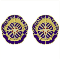 Vanguard ARMY CREST: CRIMINAL INVESTIGATION COMMAND - DO WHAT HAS TO BE DONE