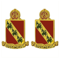 Vanguard ARMY CREST: 43RD AIR DEFENSE ARTILLERY - SUSTINEMUS