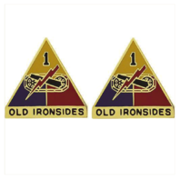 Vanguard ARMY CREST: FIRST ARMORED DIVISION - OLD IRONSIDES