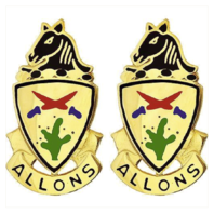Vanguard ARMY CREST: 11TH ARMORED CAVALRY - ALLONS