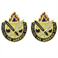 Vanguard ARMY CREST: JOINT READINESS TRAINING CENTER FORGING THE WARRIOR SPIRIT