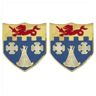 Vanguard ARMY CREST: 12TH INFANTRY REGIMENT