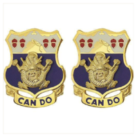 Vanguard ARMY CREST: 15TH INFANTRY REGIMENT - CAN DO