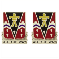Vanguard ARMY CREST: 509TH INFANTRY REGIMENT - ALL THE WAY