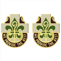 Vanguard ARMY CREST: MEDDAC FORT POLK (HOSPITAL) - WE PROVIDE THE BEST