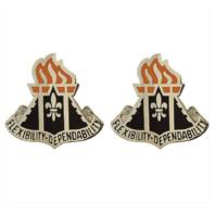 Vanguard ARMY CREST: 11TH SIGNAL BRIGADE - FLEXIBILITY DEPENDABILITY