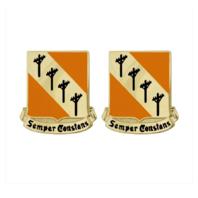 Vanguard ARMY CREST 51ST SIGNAL BATTALION: SEMPER CONSTANS