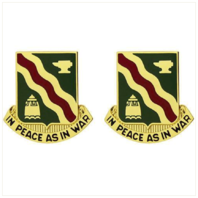 Vanguard ARMY CREST: 728TH MILITARY POLICE BATTALION - IN PEACE AS IN WAR