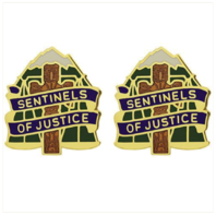 Vanguard ARMY CREST: 704TH MILITARY POLICE BATTALION - SENTINELS OF JUSTICE