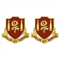 Vanguard ARMY CREST: 29TH FIELD ARTILLERY - FIDELIS ET VERUS