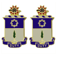 Vanguard ARMY CREST: 21ST INFANTRY REGIMENT - DUTY