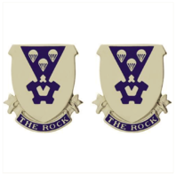 Vanguard ARMY CREST: 503RD INFANTRY - THE ROCK
