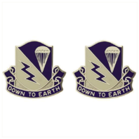 Vanguard ARMY CREST: 507TH INFANTRY - DOWN TO EARTH