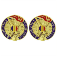 Vanguard ARMY CREST: TRAINING AND DOCTRINE COMMAND: TRADOC - FREEDOMS FORTRESS