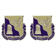Vanguard ARMY CREST: 501ST SUPPORT BATTALION - SUPPLY MOBILITY SERVICE