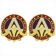 Vanguard ARMY CREST: US ARMY CENTRAL - SEMPER PRIMA TERTIA