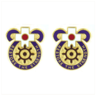 Vanguard ARMY CREST: MEDDAC JAPAN - RESTORE THE STRENGTH