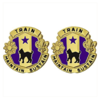 Vanguard ARMY CREST: 81TH REGIONAL SUPPORT COMMAND - TRAIN MAINTAIN SUSTAIN