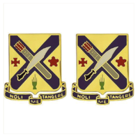 Vanguard ARMY CREST: SECOND INFANTRY REGIMENT - NOLI ME TANGERE