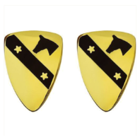 Vanguard ARMY CREST: FIRST CAVALRY DIVISION
