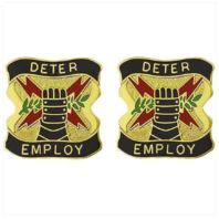 Vanguard ARMY CREST: US ARMY ELEMENT US STRATEGIC COMMAND - DETER EMPLOY