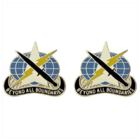 Vanguard ARMY CREST: 743RD MILITARY INTELLIGENCE BATTALION BEYOND ALL BOUNDARIES