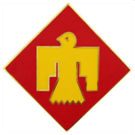 Vanguard ARMY COMBAT SERVICE ID BADGE (CSIB): 45TH INFANTRY BRIGADE COMBAT TEAM