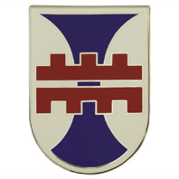 Vanguard ARMY COMBAT SERVICE IDENTIFICATION BADGE (CSIB): 412TH ENGINEER COMMAND
