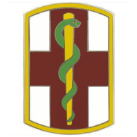 Vanguard ARMY COMBAT SERVICE IDENTIFICATION BADGE (CSIB): 1ST MEDICAL BRIGADE