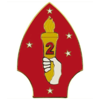 Vanguard ARMY COMBAT SERVICE IDENTIFICATION BADGE (CSIB): 2ND MARINE DIVISION