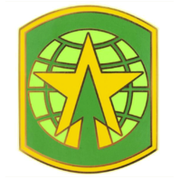 Vanguard ARMY COMBAT SERVICE IDENTIFICATION BADGE 16TH MILITARY POLICE BRIGADE