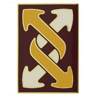 Vanguard ARMY COMBAT SERVICE IDENTIFICATION BADGE CSIB 143RD SUSTAINMENT BRIGADE