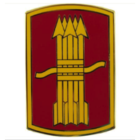 Vanguard ARMY COMBAT SERVICE IDENTIFICATION BADGE (CSIB): 197TH FIRES BRIGADE