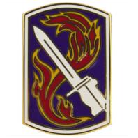 Vanguard ARMY COMBAT SERVICE IDENTIFICATION BADGE (CSIB): 198TH INFANTRY BRIGADE